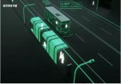 陇西公交新能源公交一路车上线运行,恒宇提供技术支持
