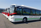 酷暑时节,恒宇电子助力白城市新能源电动公交车上线运营!